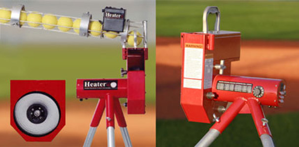 Heater Pitching Machine - Softball