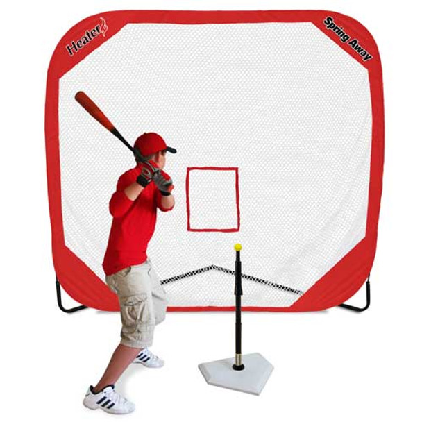 Spring Away Pro 7' x 7' Pop-Up Batting Practice Net
