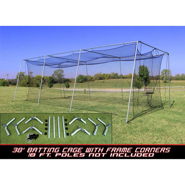 Cimarron #24 30x12x10 Batting Cage and Frame Corners