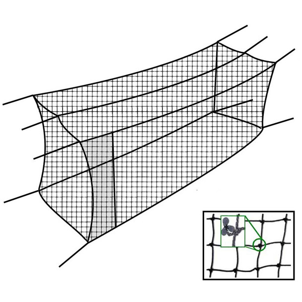 70x12x12 #42 Batting Cage Net - Cimarron