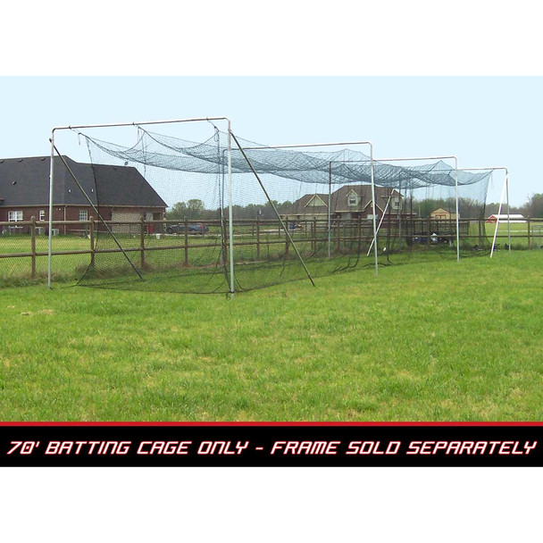 70x14x12 #42 Batting Cage Net - Cimarron