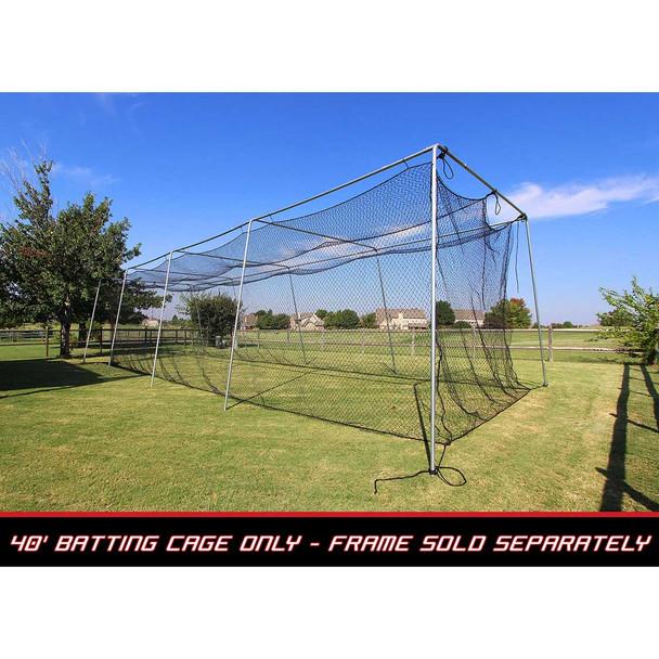40x12x10 #24 Batting Cage Net - Cimarron
