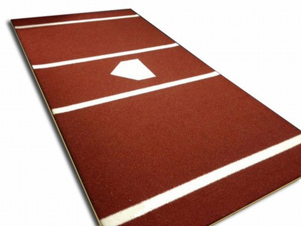 Home Plate Mat 6x12 Pro Nylon - Terracotta