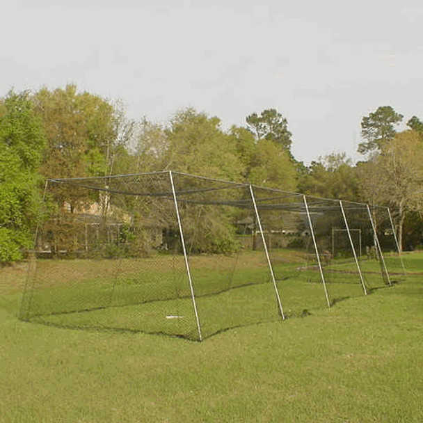 Batting Cage Net Outside Installed