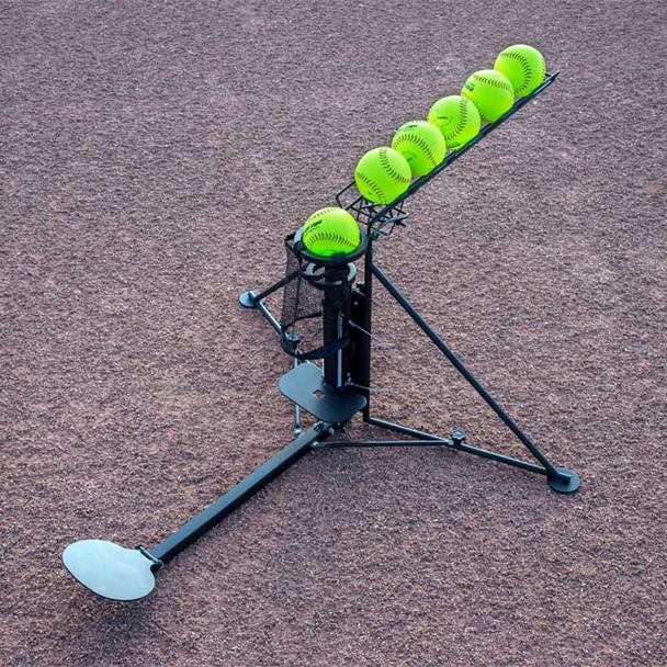 Ultimate Hitting Machine Trainer with Softballs