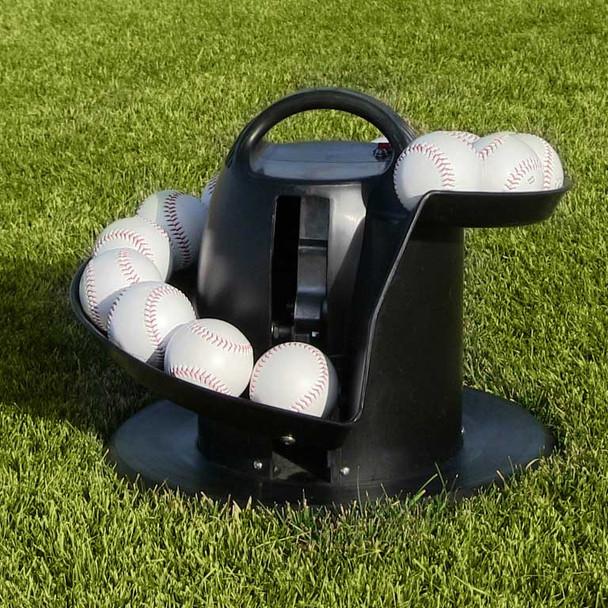 Ultimate Ball Toss Machine in Grass