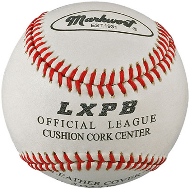 Top Grade Leather Cover 9inch Practice Baseballs - Dozen