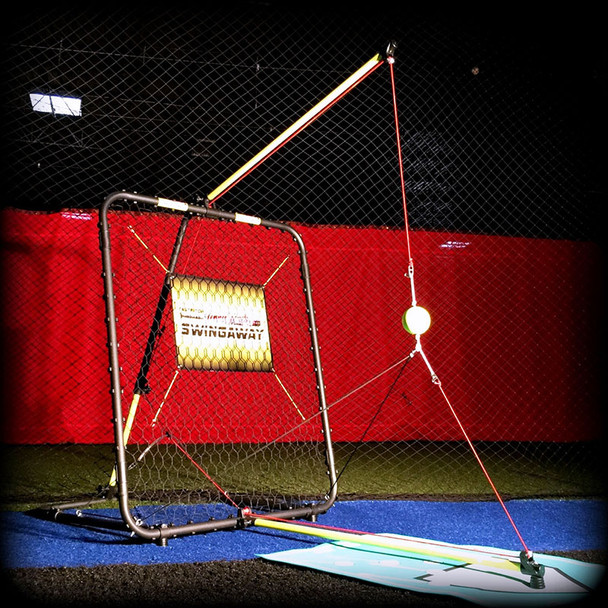SwingAway Jennie Finch Gold Medal Edition Softball Hitting System