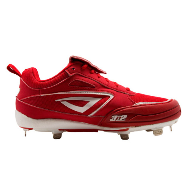 Rally Metal Fastpitch Softball Cleats with Pitching Toe by 3N2