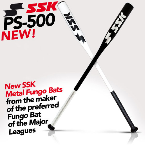 SSK PS-500 Metal Fungo Baseball Bat