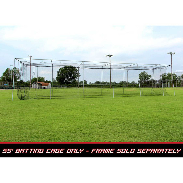 55x12x12 #24 Batting Cage Net - Cimarron