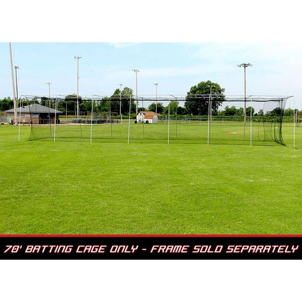 70x14x12 #24 Batting Cage Net - Cimarron