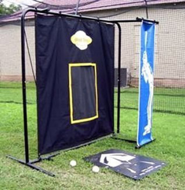 3D Pro Pitching Target by Muhl Side