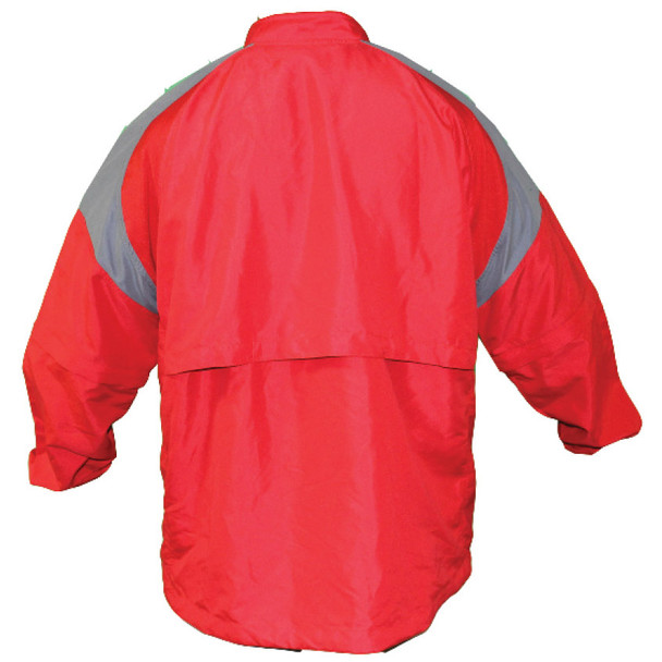 Batting Cage Jacket Long Sleeve Back