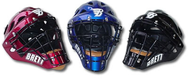 Brett Hockey Catchers Mask