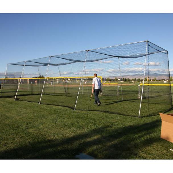 Batting Cage Net Setup