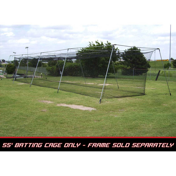 55x12x12 #36 Batting Cage Net - Cimarron