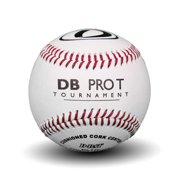 DBat PRO T Tournament Baseballs - Dozen