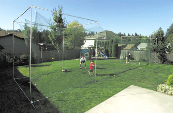 JUGS SPORTS BATTING CAGE W/GOLF MESH END