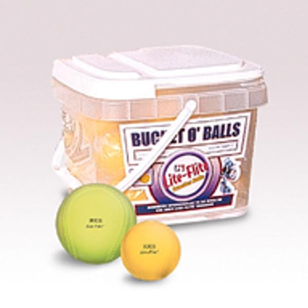 Bucket O' Balls Lite Flite Baseball/Softball