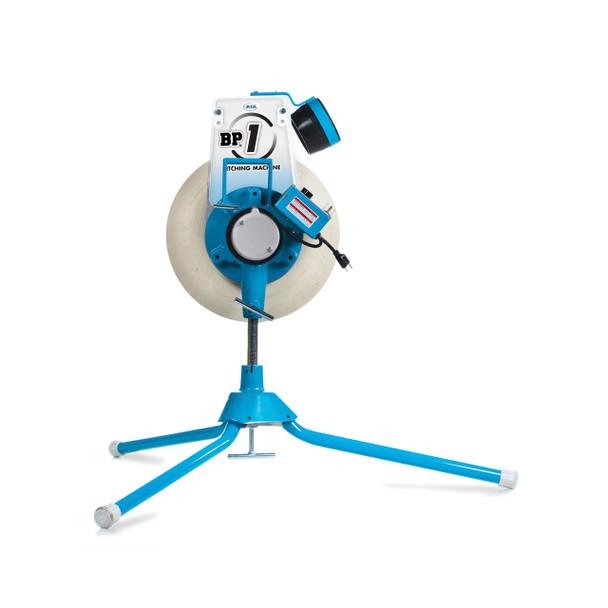 JUGS BP®1 Softball Only Pitching Machine Side View