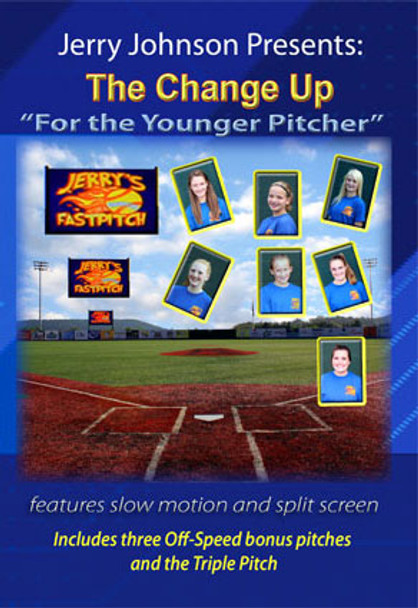 "Fastpitch Softball Pitching - The Change Up ""For the Younger Pitcher"" DVD"