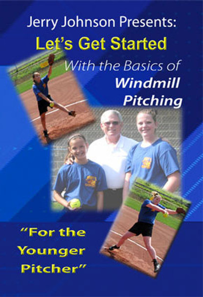 "The Basics of Windmill Pitching ""For the Younger Softball Pitcher"" DVD"