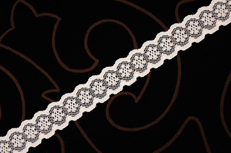 """3/4"""" Beige Wholesale Lace Trim #lace-74"""