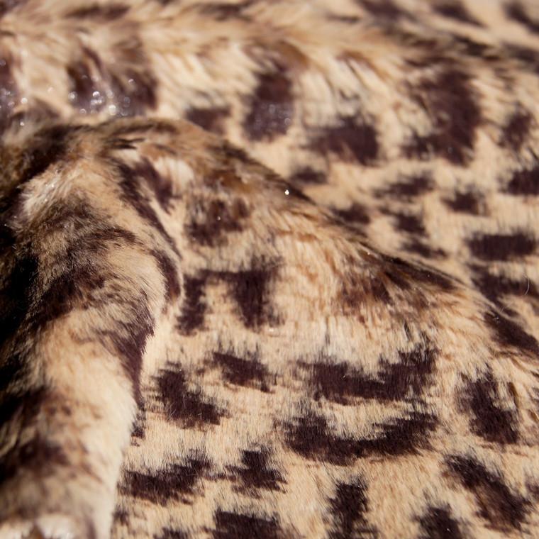 Baby Cheetah Animal Print Faux Fur Minky Fabric