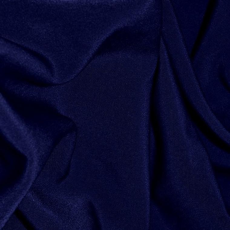 Wholesale Navy Peachskin Fabric bolt