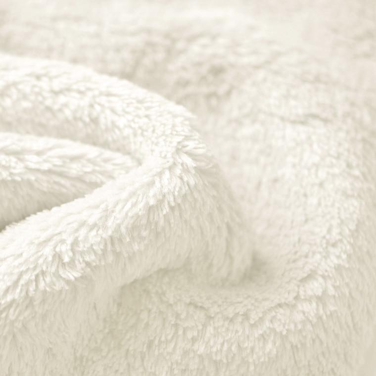 Ivory Double sided cuddle Fleece Wholesale