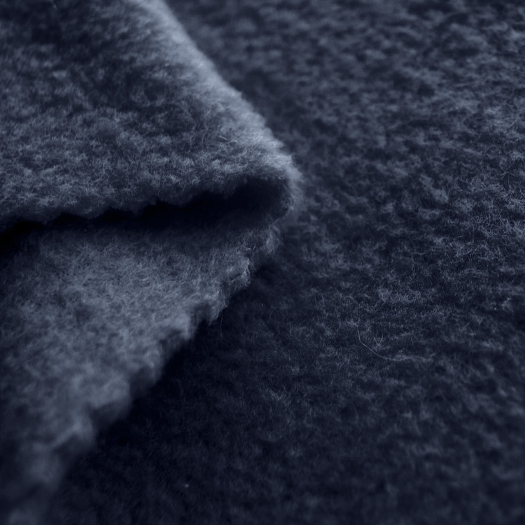Grey Anti-Pill Yukon Fleece Fabric