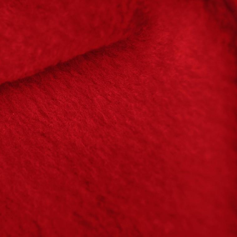 Crimson Red Anti-Pill Yukon Fleece Fabric