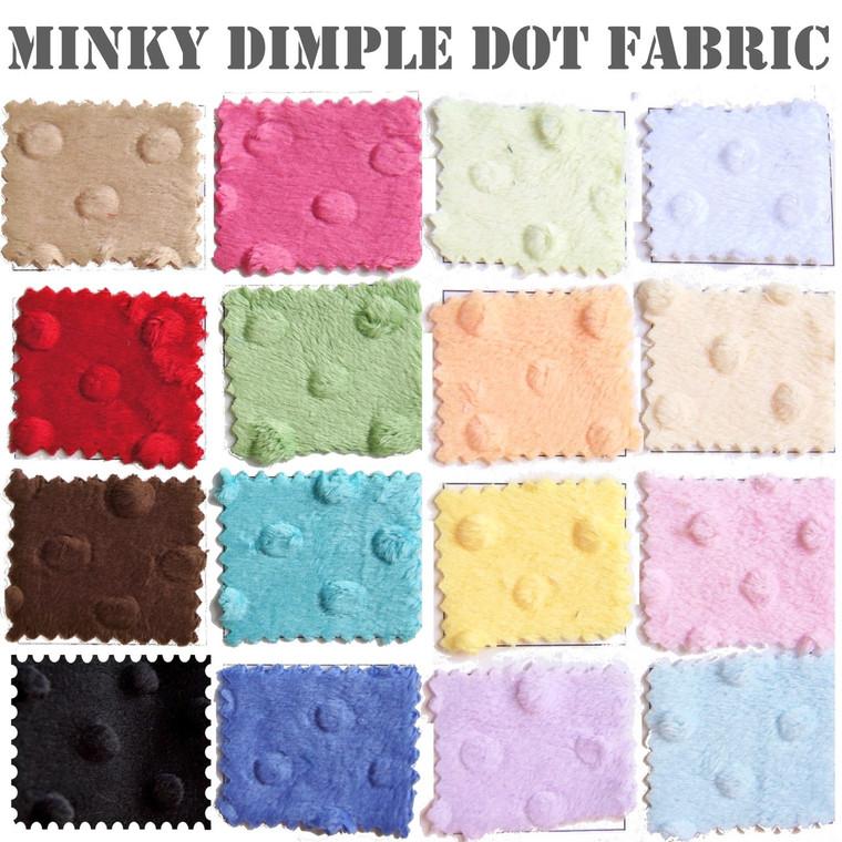 Minky Dimple Dot Fabric