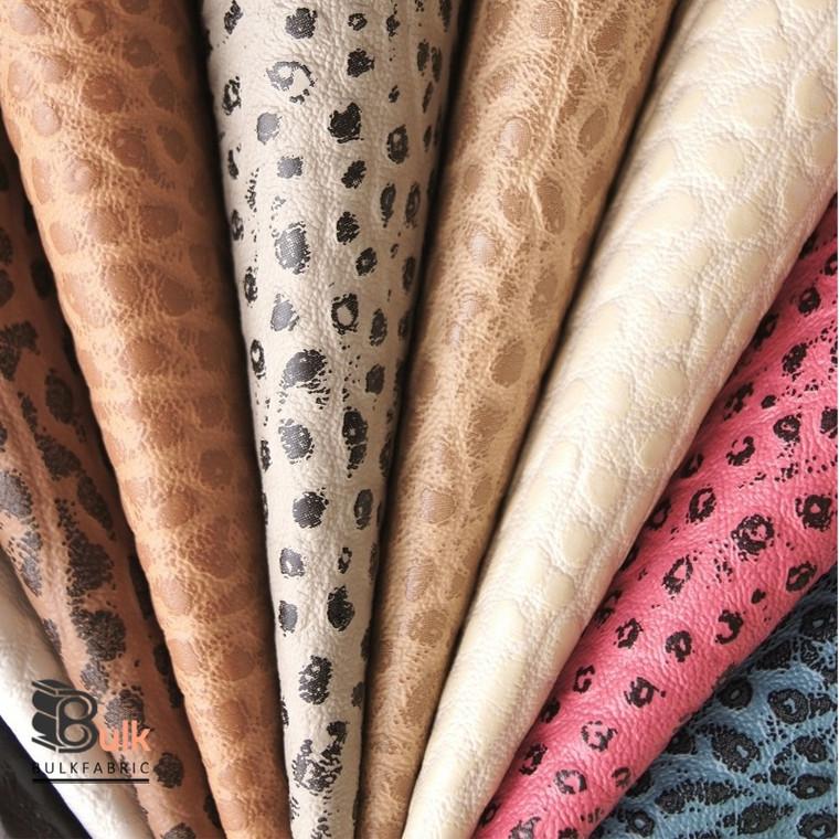 Wholesale Faux Leather Upholstery Fabrics