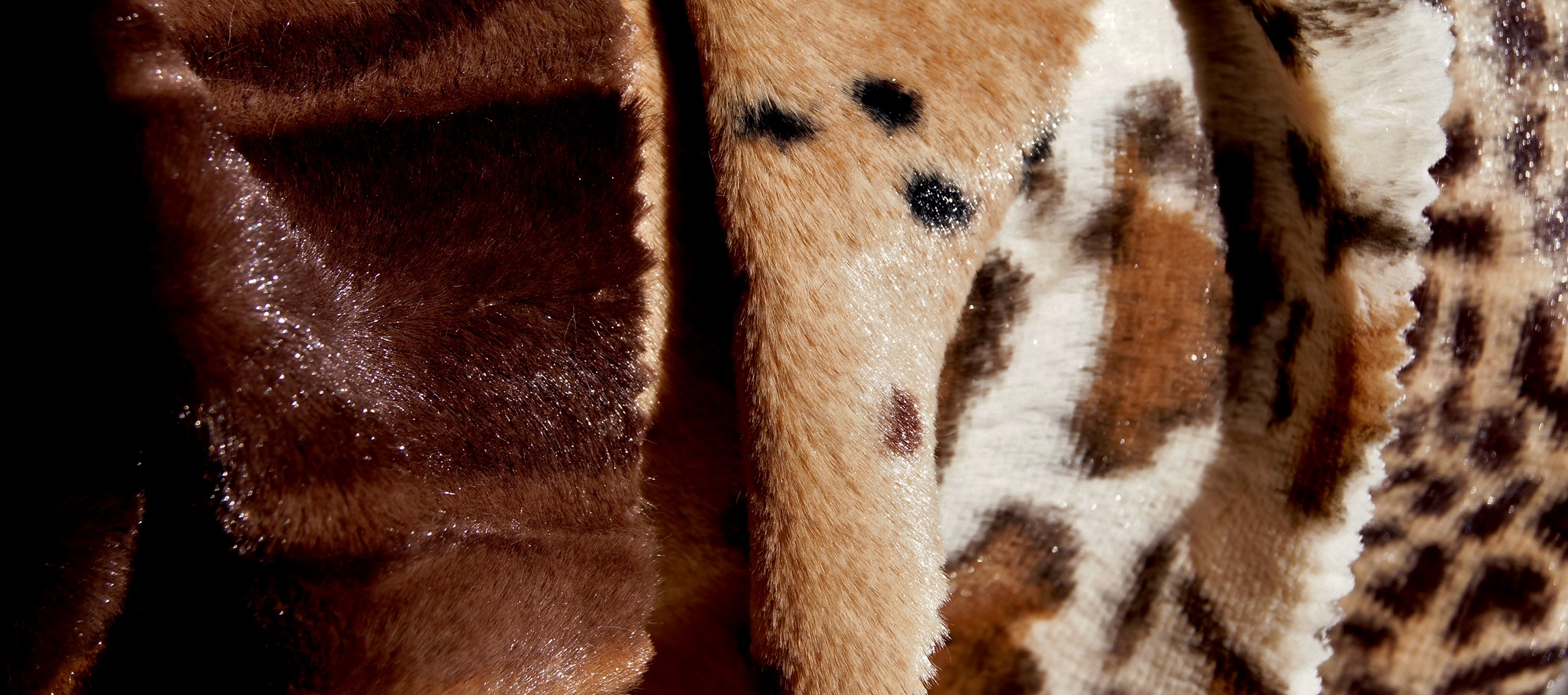 Safari Animal Faux Fur Fabric