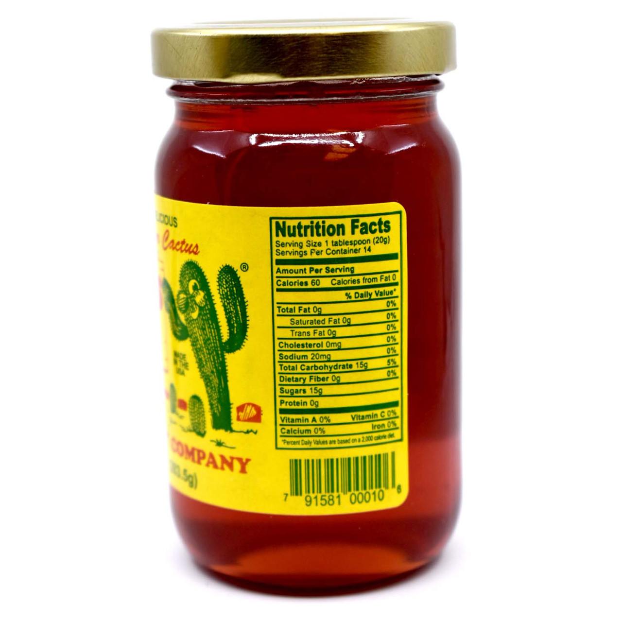 Cactus Jelly 10oz Glass Jar