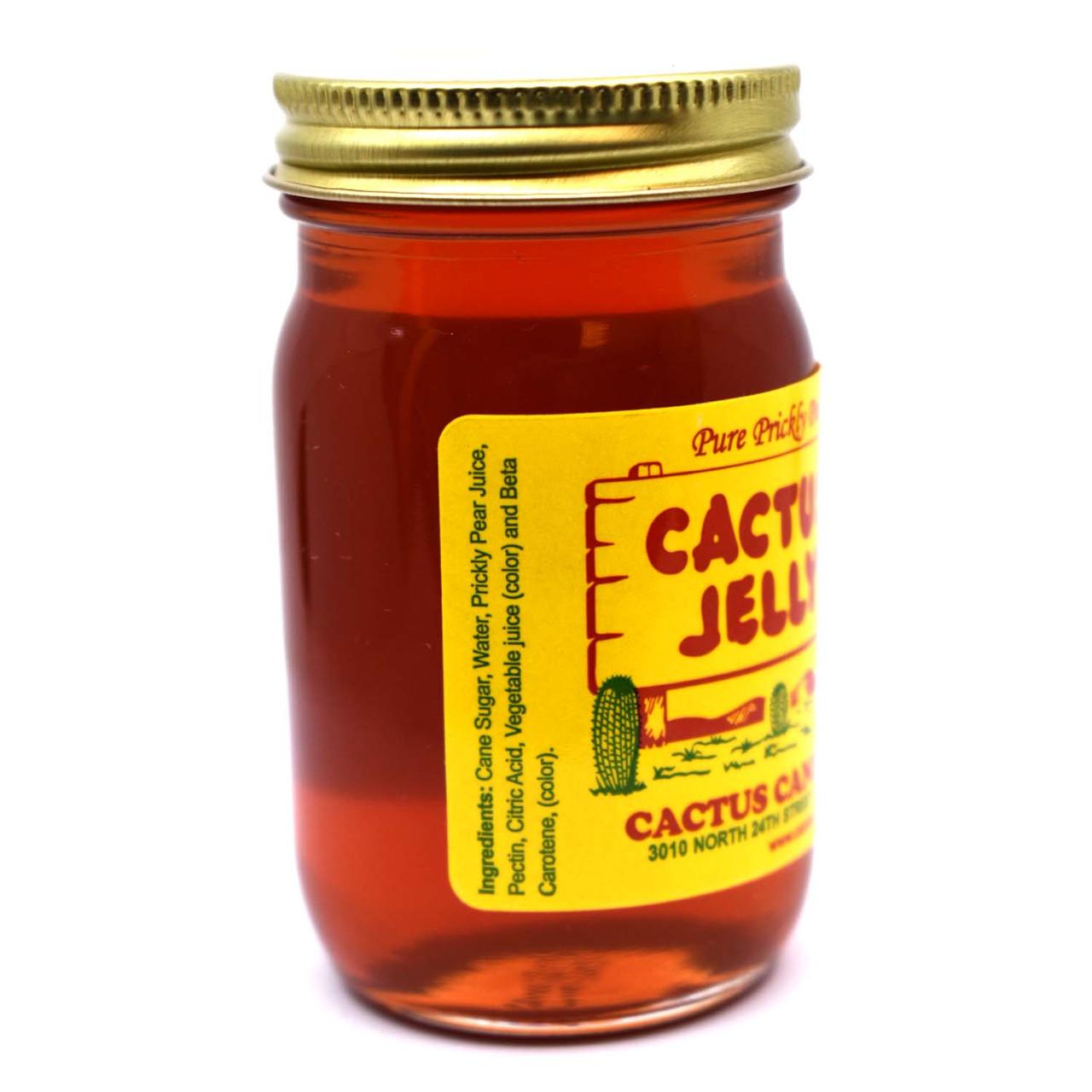 Cactus Jelly 5oz Glass Jar
