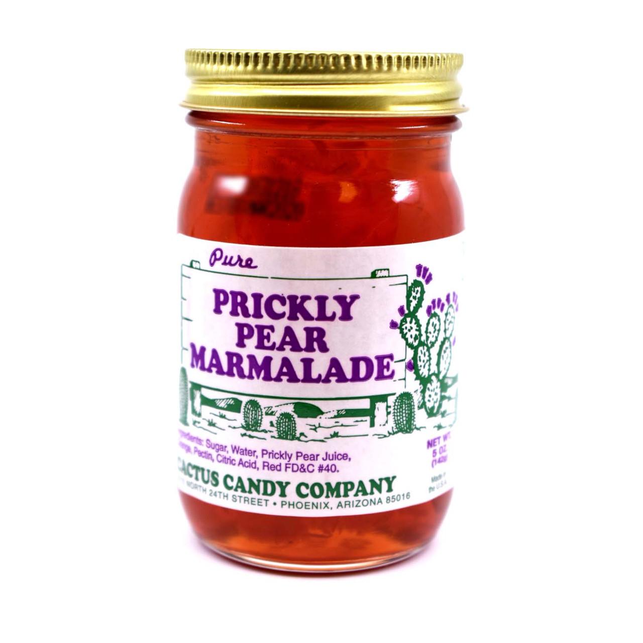 Prickly Pear Maramalade 5oz Glass Jar