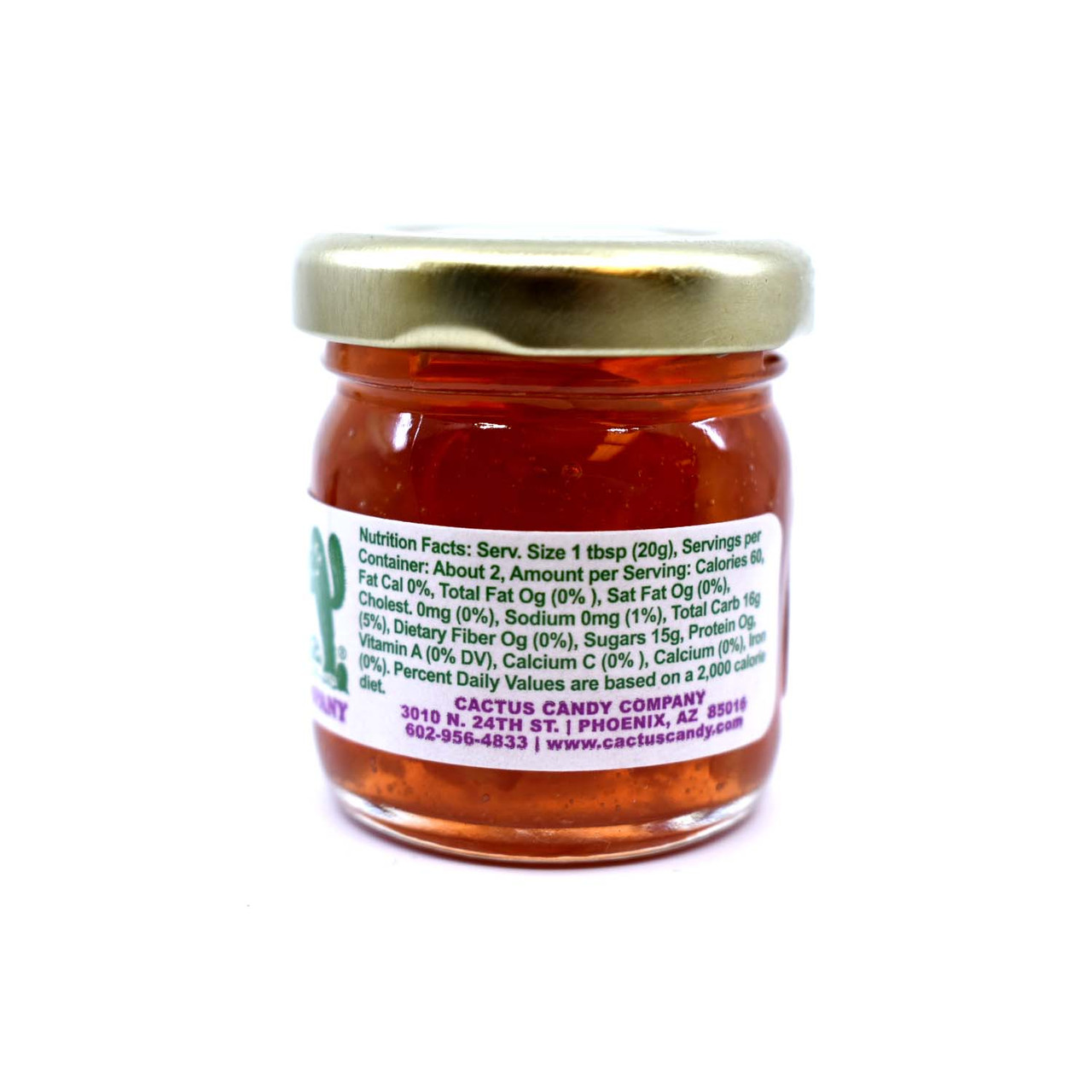 Prickly Pear Maramalade 1.5oz Glass Jar