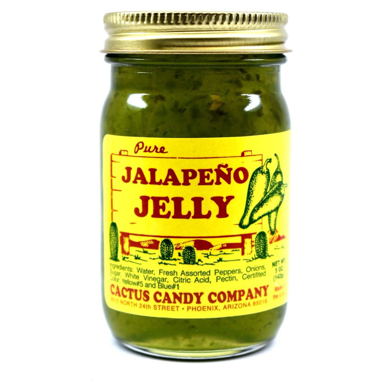 Jalapeno Jelly 5oz Glass Jar
