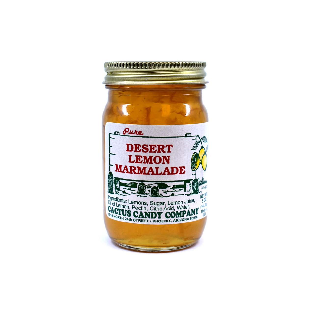 Lemon Maramlade 5oz Glass Jar