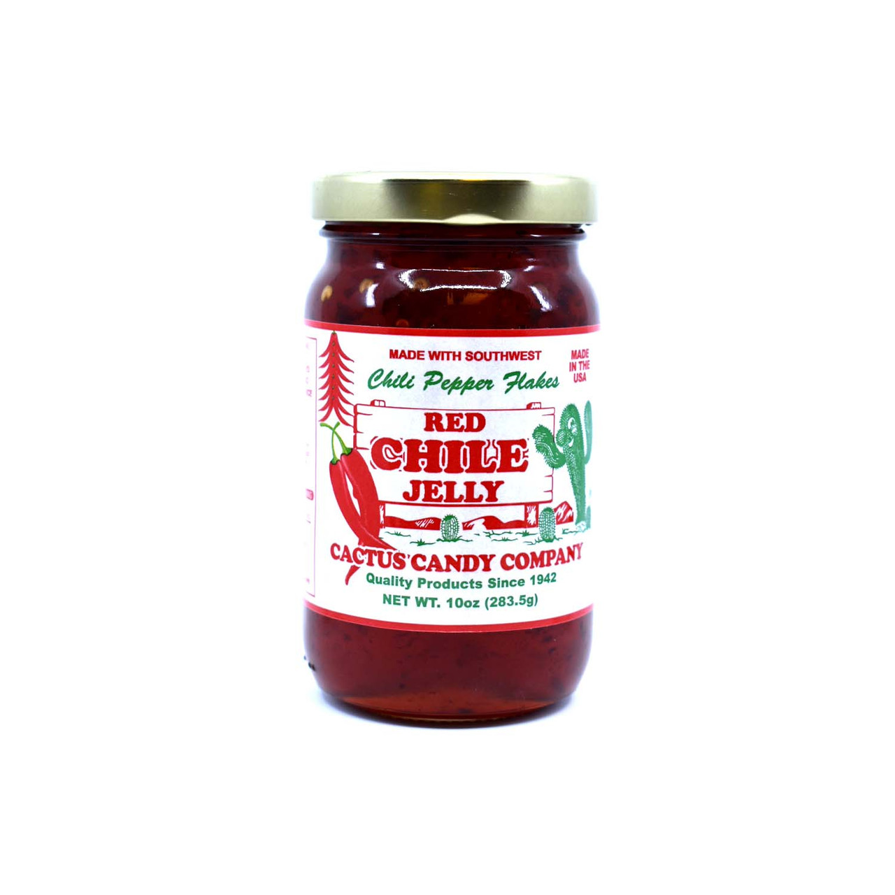 Red Chili Jelly 10oz Glass Jar