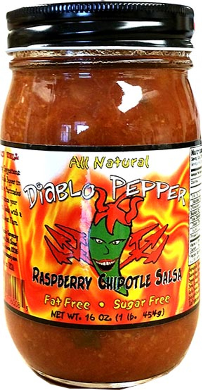 Diablo Pepper RASPBERRY CHIPOTLE Salsa
