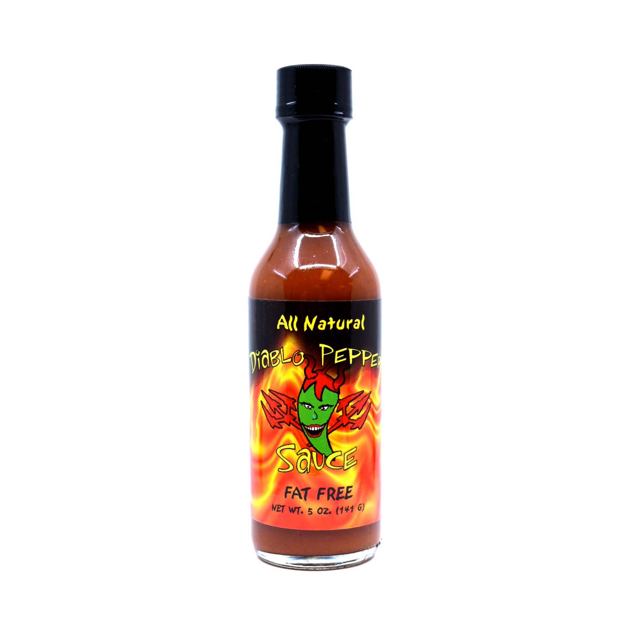 Diablo Pepper JALAPENO Hot Sauce 5oz