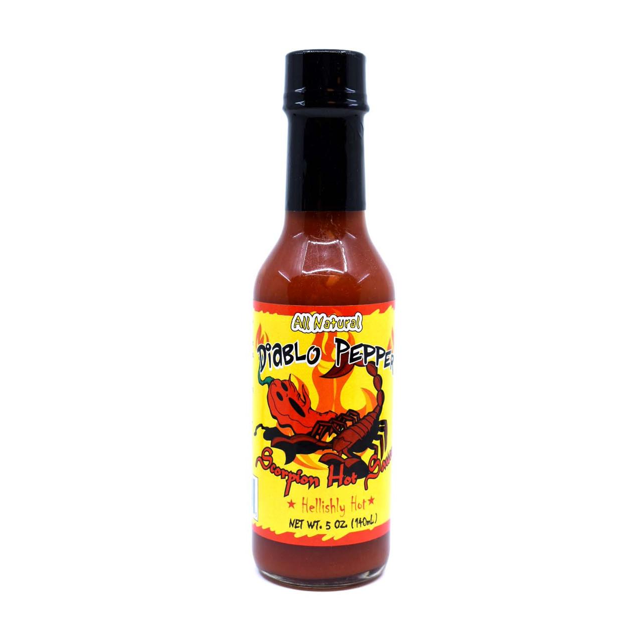 Diablo Pepper TRINIDAD SCORPION Hot Sauce 5oz