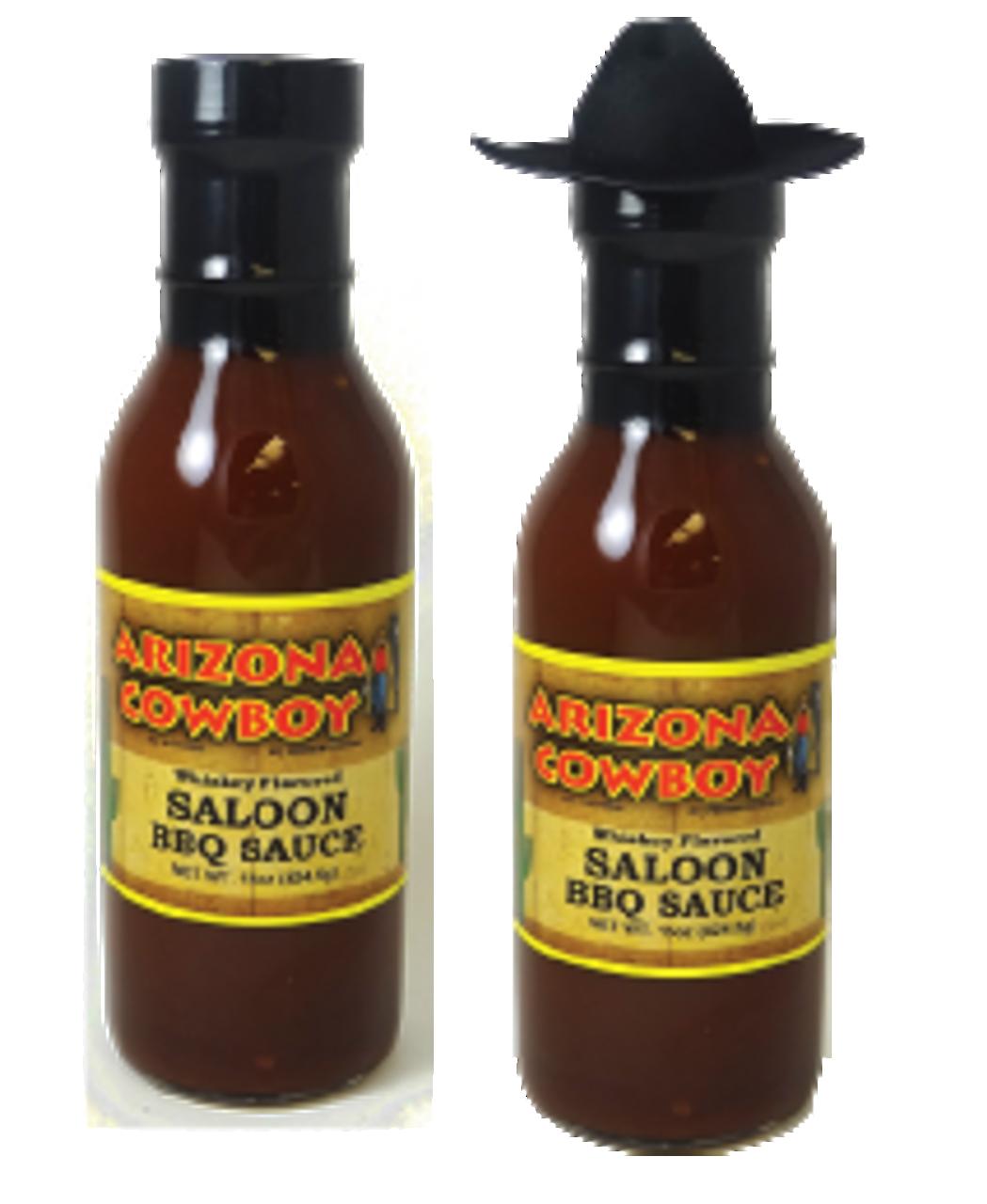 "14oz Whiskey Flavor ""Saloon"" BBQ Sauce"