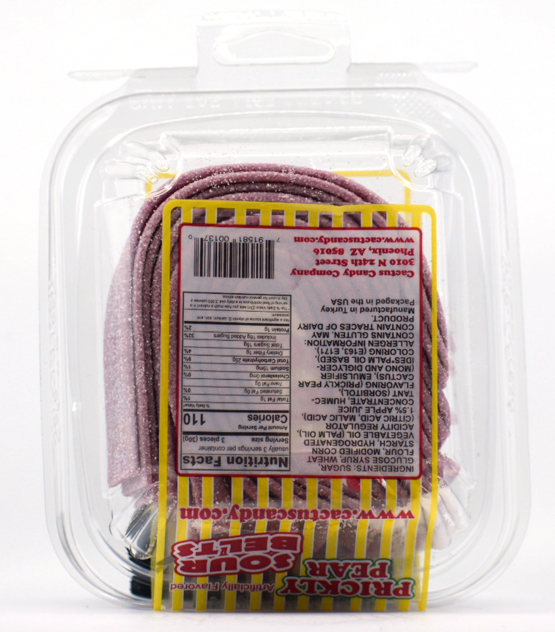 Prickly Pear Sour Belts 4oz