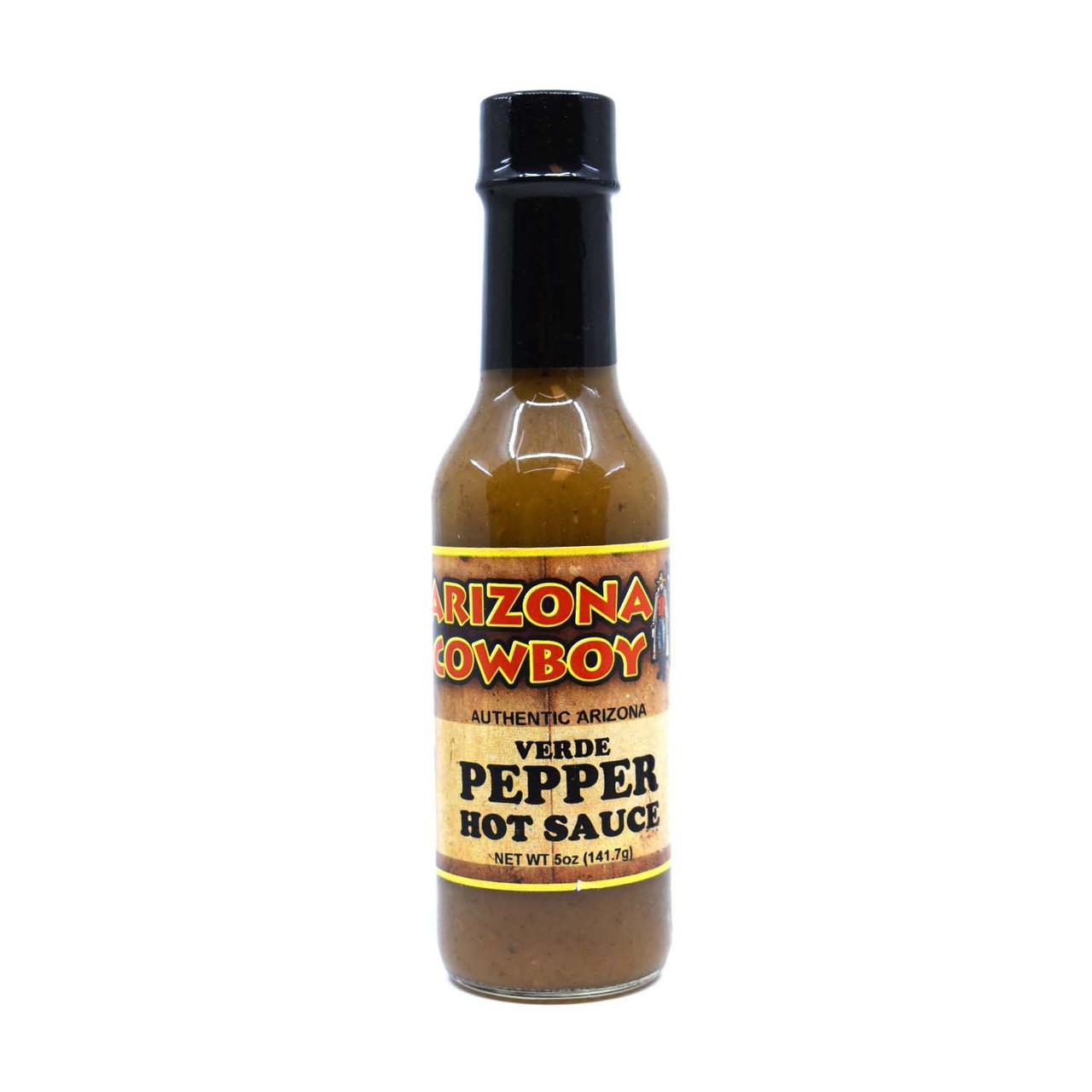 GREEN PEPPER Hot Sauce 5oz