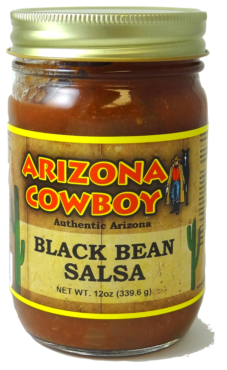BLACK BEAN Salsa 12oz